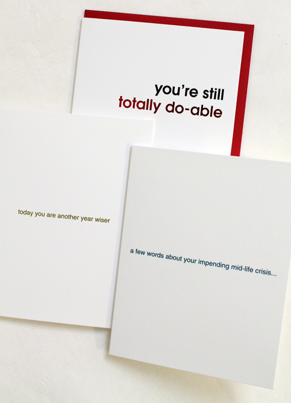 funny birthday card stationery humorous from oh my word