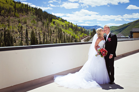 Wedding in Vail Colorado