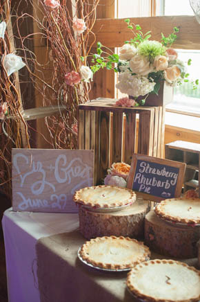 Wedding Dessert Pies