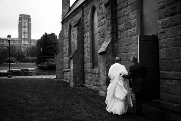 Downtown Denver Church Wedding