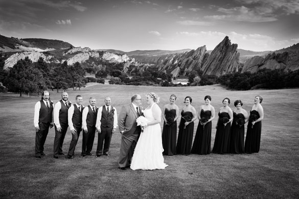 Red Rock Colorado Wedding