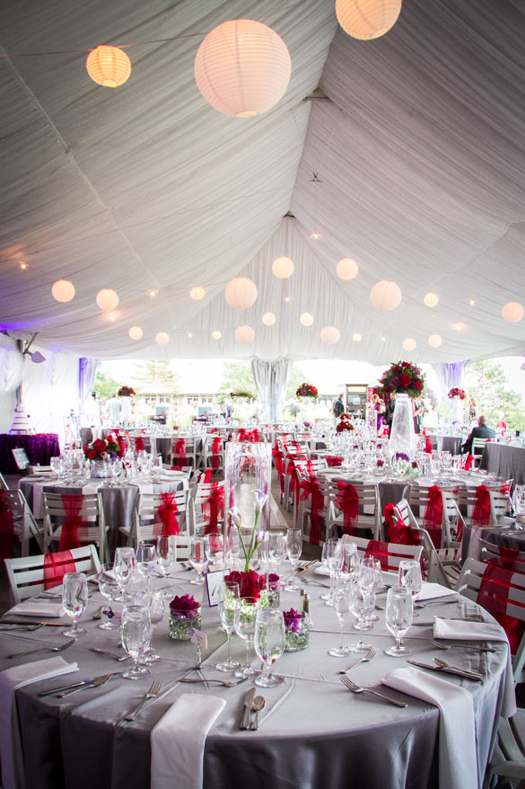 Lovely Tented Colorado Wedding