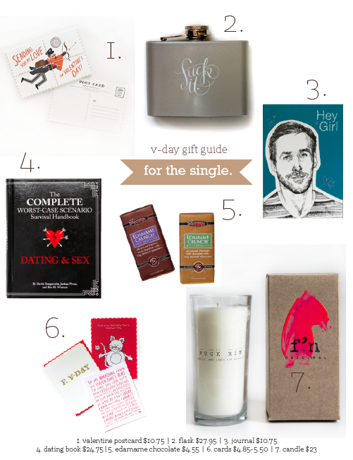 Valentine's Day Gift Guide | for the single friend