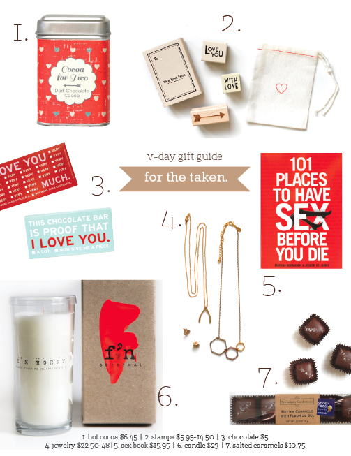 Denver Valentine's Day Gift Guide | for the taken