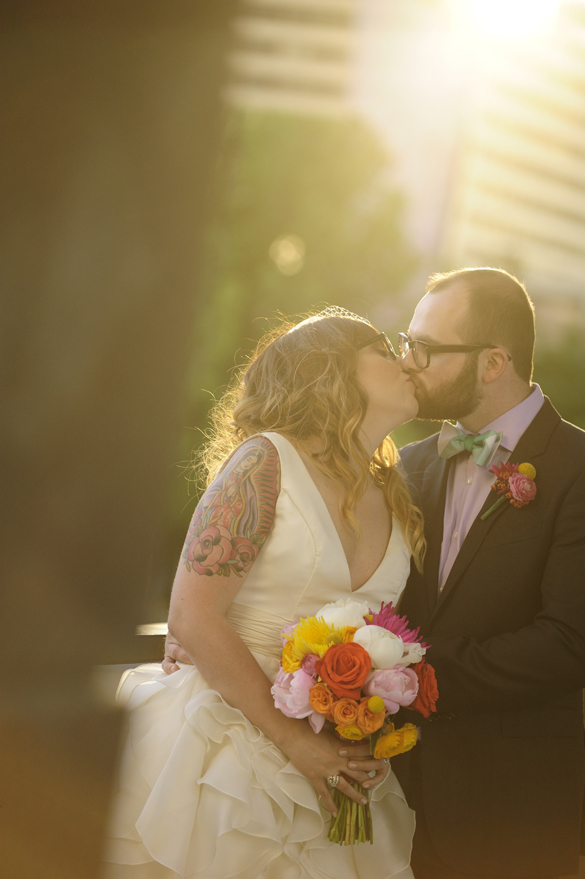 Colorful Retro Wedding