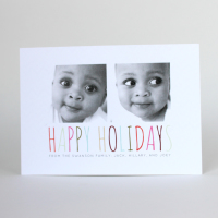 Infant Holiday Photo Cards