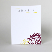 Modern Custom Personalized Stationery