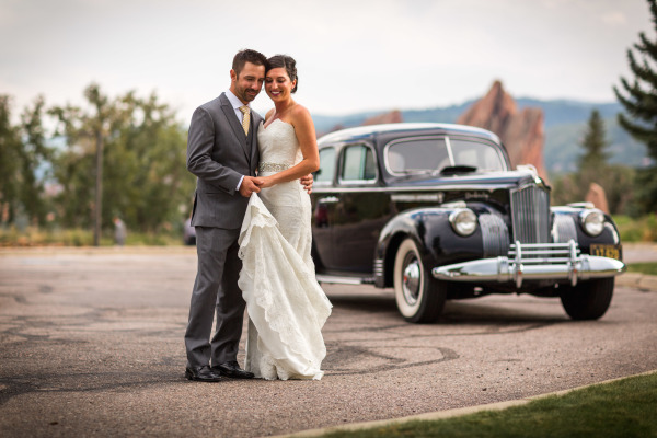 Denver Vintage Wedding Car Rental