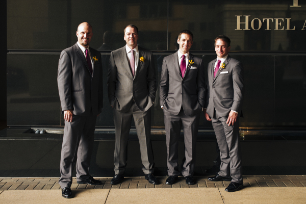 Sleek Grooms Suit Denver