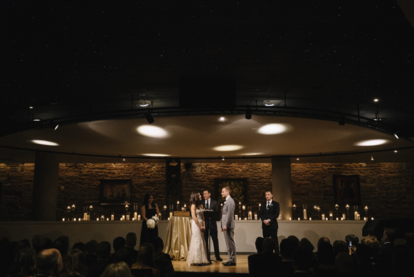 Denver Opera House Wedding Ceremony