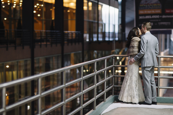 Denver Opera House Winter Wedding