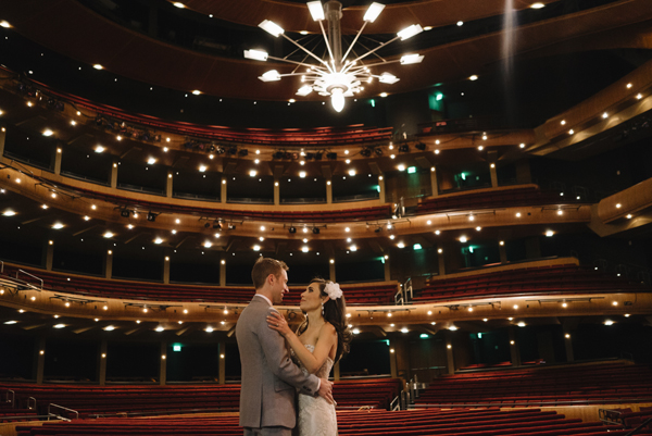 Kevin Taylor's Opera House Wedding