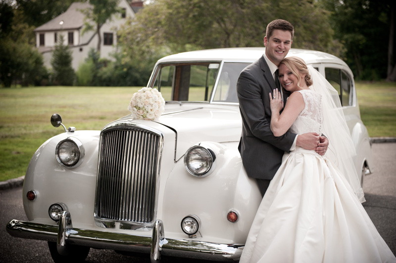 New England Vintage Wedding Car Rental