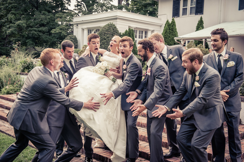 Blush Grey Wedding Party Ideas