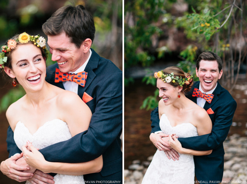 Riverbed Colorado Wedding