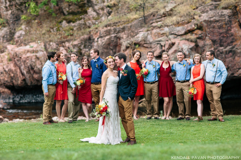 Riverbed Lyons Colorado Wedding