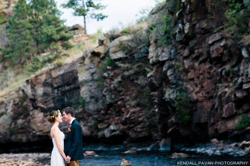 Riverbed Wedding Colorado