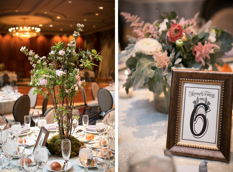 Brown Palace wedding reception ideas