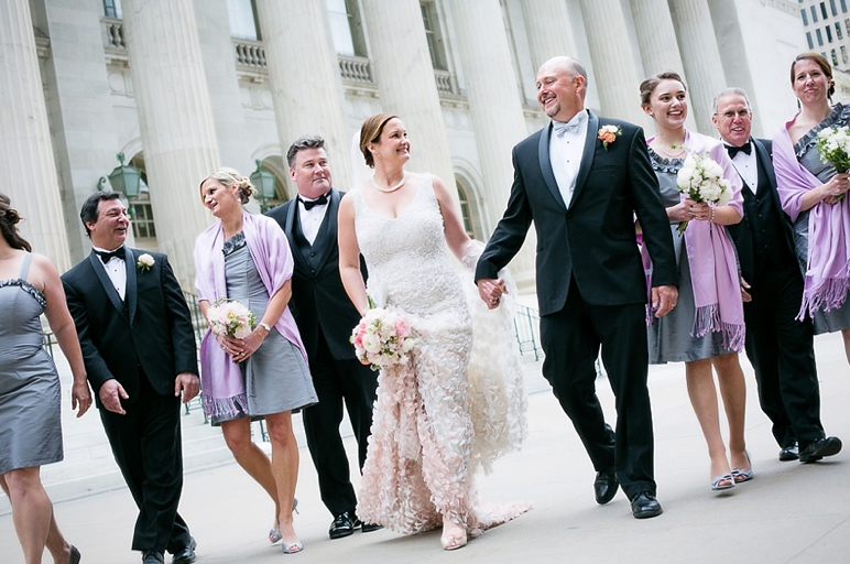 Classic downtown Denver wedding
